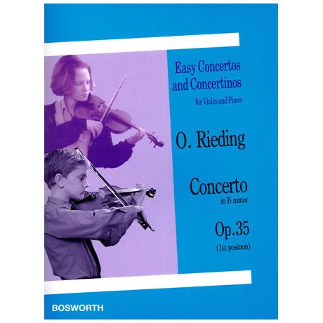 Rieding, O.: Concerto Op. 35 h-Moll