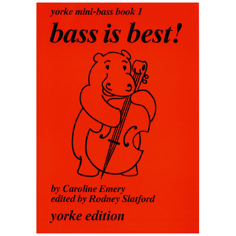 Yorke Mini-Bass Book 1: Bass is best