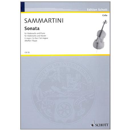 Sammartini, G. B.: Violoncellosonate G-Dur