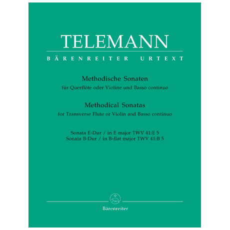 Telemann, G. Ph.: Methodische Sonaten – Band 5