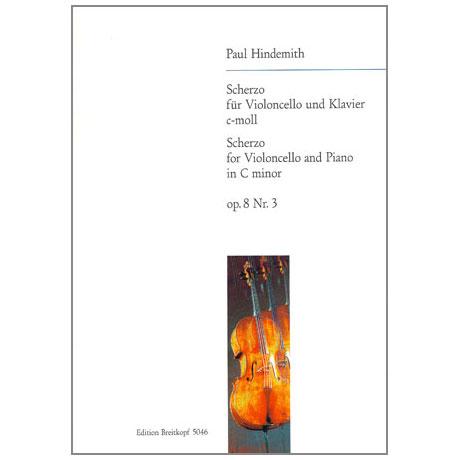Hindemith, P.: Scherzo c-moll Op.8/3
