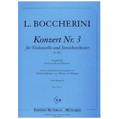 Boccherini, L.: Violoncellokonzert G-Dur G 480