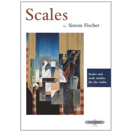 Fischer, S.: Scales & Scale Studies: Tonleitern und Tonleiterübungen