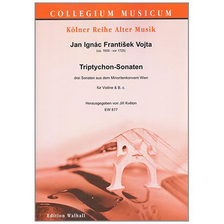 Vojta, J. I. F.: Triptychon-Sonaten