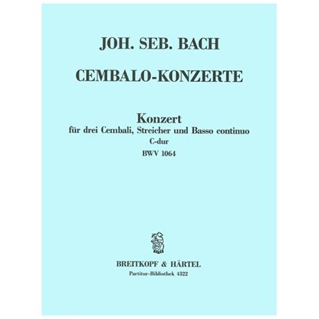 Bach, J. S.: Cembalokonzert C-Dur BWV 1064