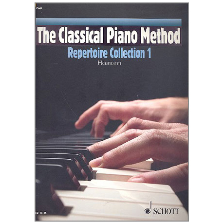 Heumann, H.-G.: The Classical Piano Method - Repertoire Collection Band 1 (+CD)