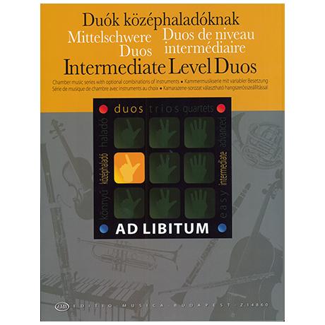 Ad libitum - Mittelschwere Duos