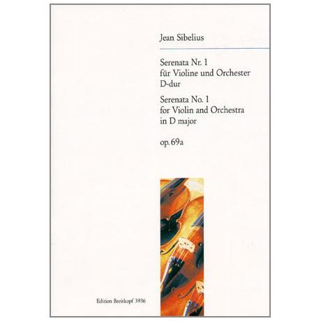 Sibelius, J.: Serenade Nr. 1 D-Dur, op. 69a