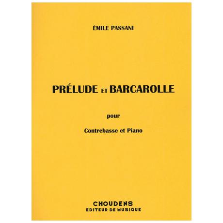Passani, É.: Prelude et Barcarolle