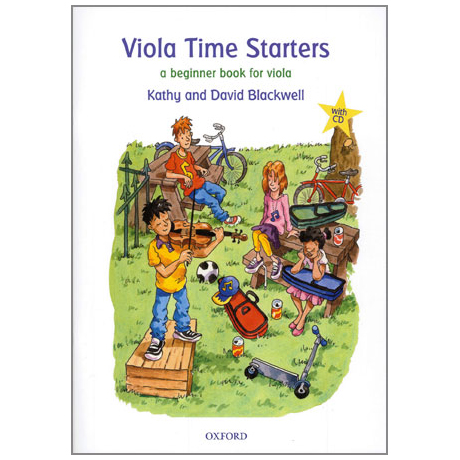 Blackwell, K. & D.: Viola Time Starters (+CD)