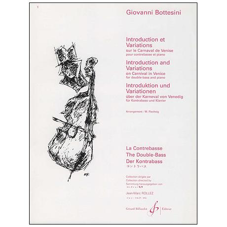 Bottesini, G.: Introduction et variations sur le carneval de Venise