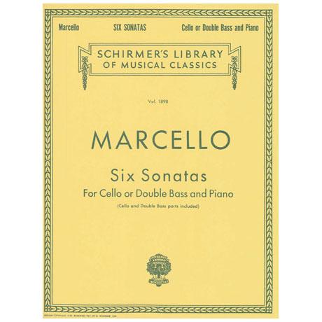 Marcello, B.: Six Sonatas