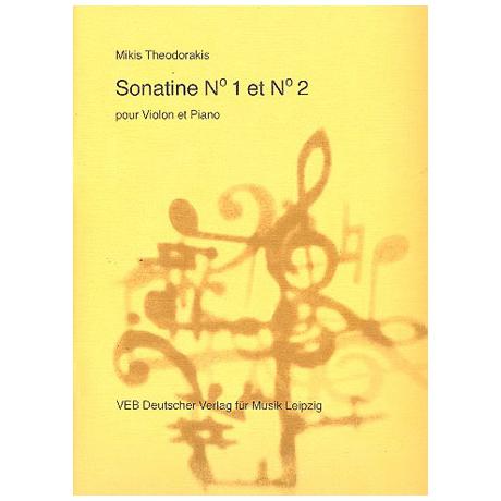 Theodorakis, M.: 2 Violinsonatinen