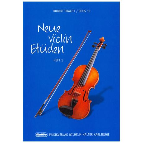 Pracht, Robert: Neue Violin-Etüden Op. 15 Band 1