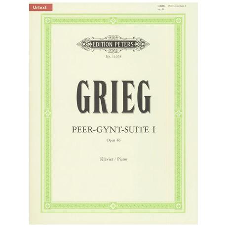 Grieg, E.: Peer Gynt-Suite I Op. 46