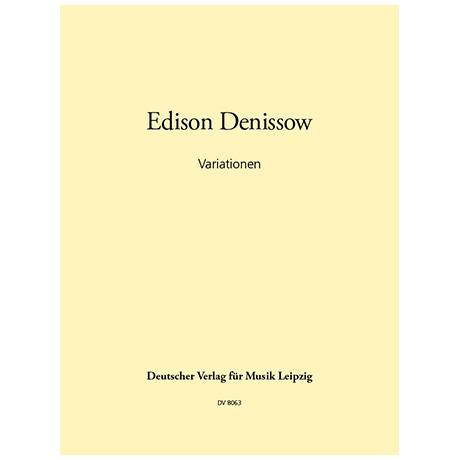 Denissow, E.: Variationen (1961)