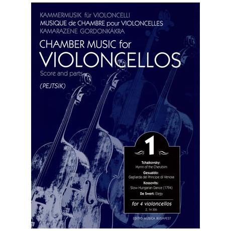 Kammermusik für Violoncelli Band 1