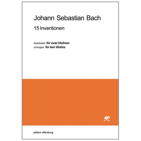 Bach, J. S.: 15 Inventionen für Violinen