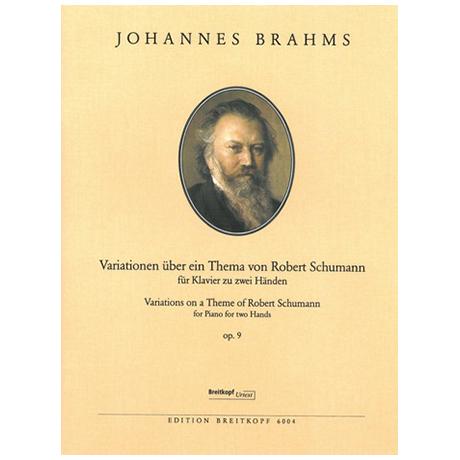 Brahms, J.: Schumann-Variationen op. 9