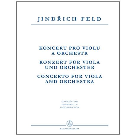 Feld, J.: Konzert für Viola und Orchester