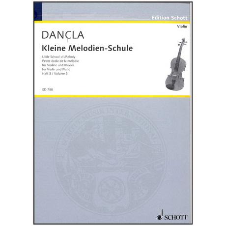 Dancla, J. B. Ch.: Kleine Melodienschule Op. 123 Band 3