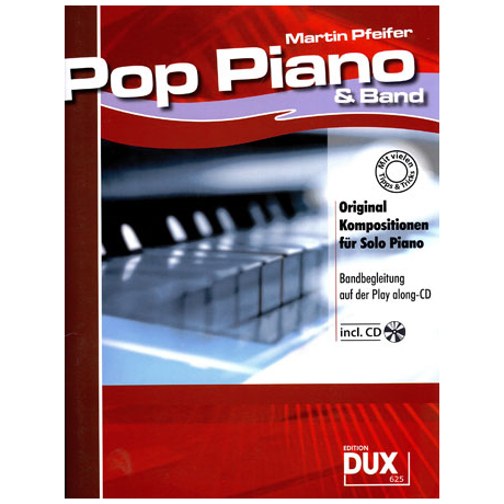 Pfeifer: Pop Piano & Band (+CD)