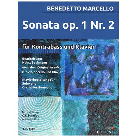 Marcello, B.: Kontrabassonate Op. 1/2