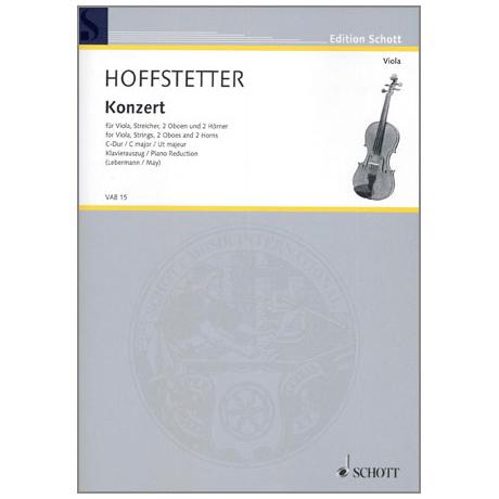 Hoffstetter, R.: Violakonzert C-Dur