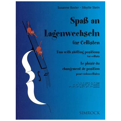 Basler: Spaß an Lagenwechseln für Cellisten Band 2