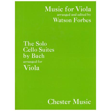 Bach, J. S.: 6 Suiten BWV 1007-1012 – für Viola