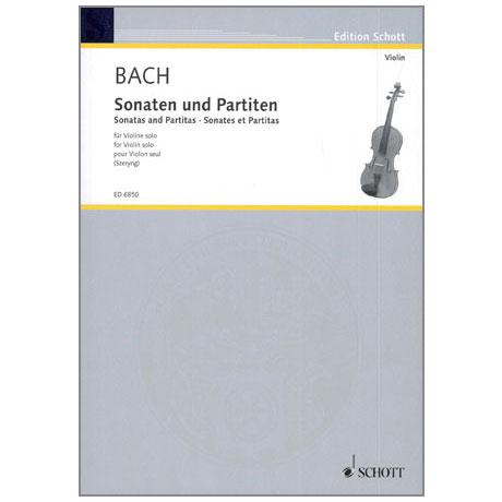 Bach, J.S.: Sonaten und Partiten