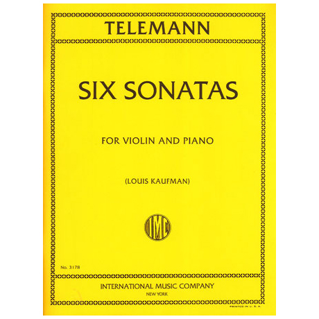 Telemann, G.Ph.: 6 Sonaten
