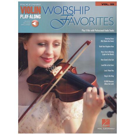 Worship Favorites – Violin Play Along 59 (+Online Audio)