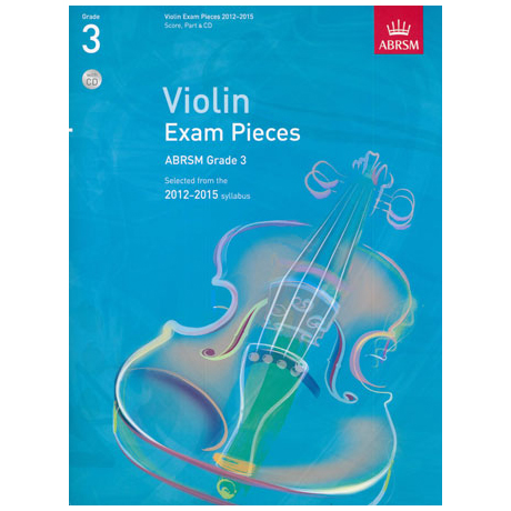 ABRSM: Selected Violin Exam Pieces Grade 3 (2012-2015) (+CD)