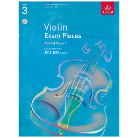 ABRSM: Selected Violin Exam Pieces Grade 3 (2012-2015) (+CD)