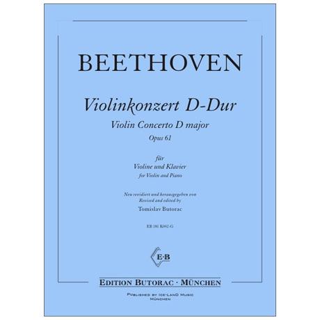 Beethoven, L. v.: Violinkonzert Op. 61 D-Dur
