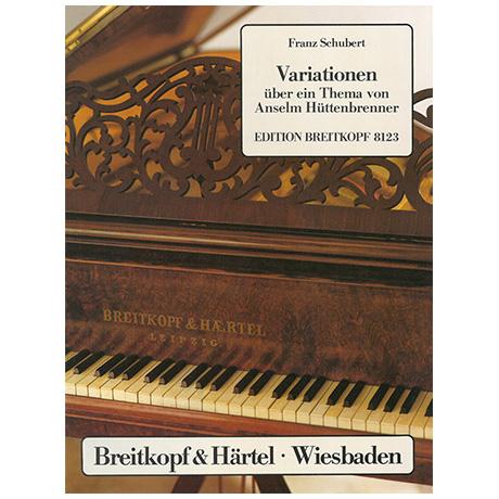 Schubert, F.: Dreizehn Variationen über ein Thema von Hüttenbrenner D 576