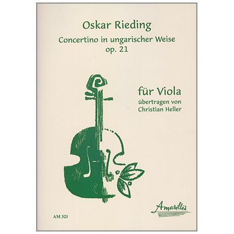 Rieding, O.: Violakonzert in ungarischer Weise Op.21