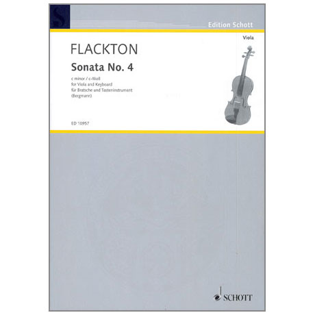 Flackton, W.: Sonata Nr.4 c-moll (op. 2 Nr. 8)