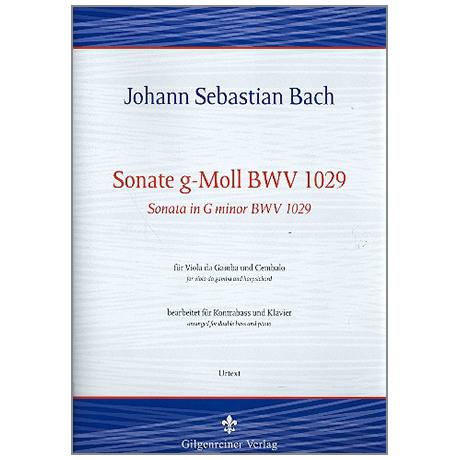 Bach, J.S.: Kontrabasssonate g-Moll BWV1029