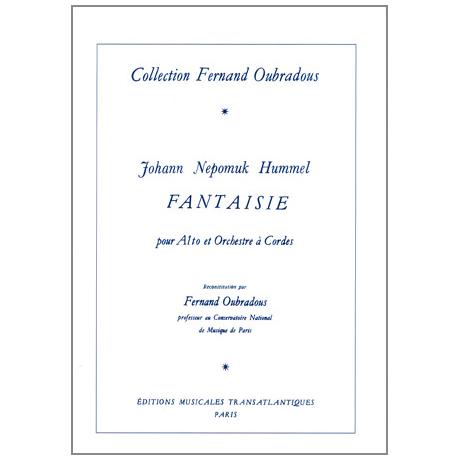 Hummel, J. N.: Fantaisie