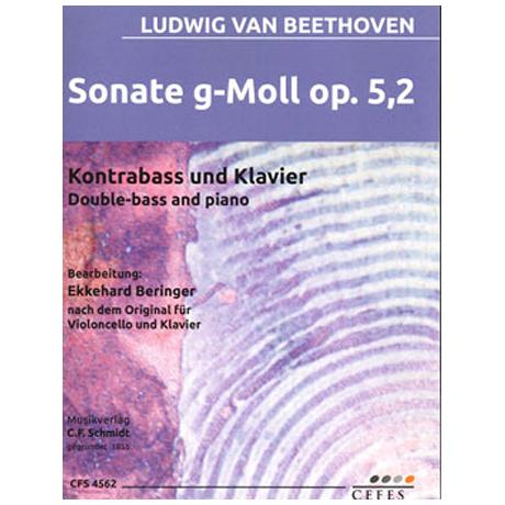 Beethoven, L.v.: Kontrabasssonate Op.5/2 g-Moll