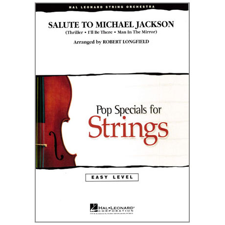 Pop Specials for Strings - Salute to Michael Jackson