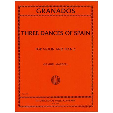 Granados, E.: Drei Spanische Tänze