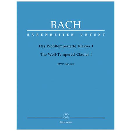 Bach, J. S.: Das Wohltemperierte Klavier I BWV 846-869