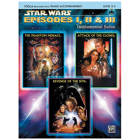 Williams, J.: Star Wars Episodes 1-3 (+CD)