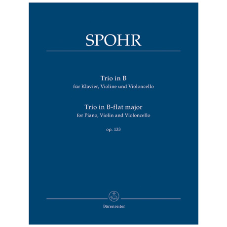 Spohr, L.: Trio Op. 133 B-Dur