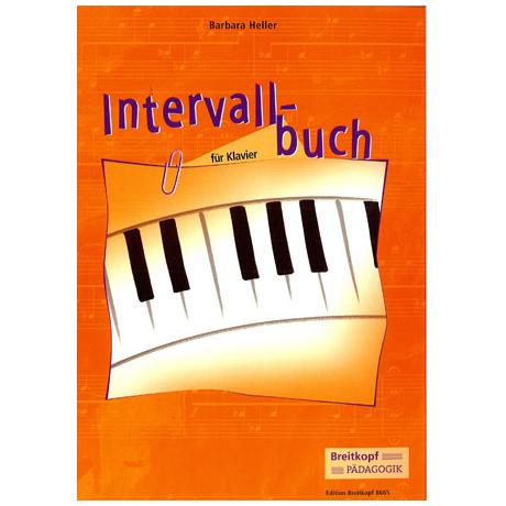 Intervallbuch - für Klavier (B. Heller)