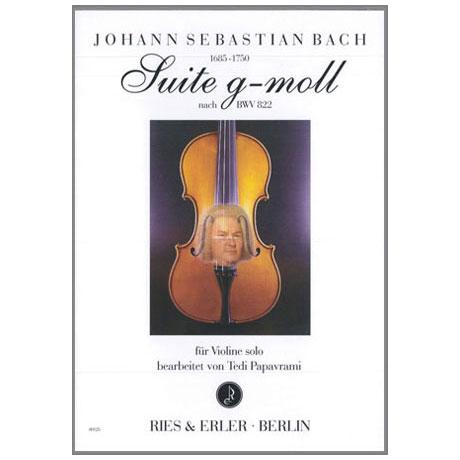 Bach, J.S.: Suite g-moll BWV 822