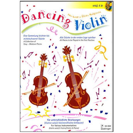 Korn, Uwe: Dancing violin (+CD)